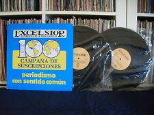 V.A 100 EXCELSIOR   MARIACHI VARGAS DE TECALITLAN   PRIVATE PRESS   2LPs EX
