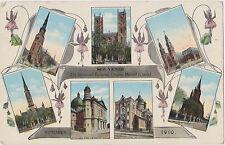Montreal,Quebec,Canada,21st Eucharist Int'l Congress,Sept.1901,7 Churches,