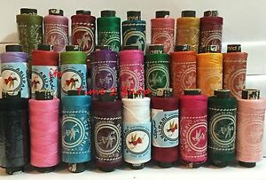 25 x 100% Spools Pure Cotton Thread Reels Finest Quality Sewing All Purpose NEW