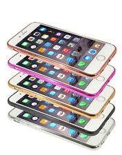 Eloja ® iPhone 6 Plus Case TPU Cover Case Bumber Metal Look