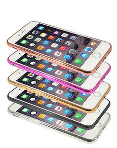 Eloja® iPhone 6 Plus Hülle TPU Cover Case Bumber Metall Optik
