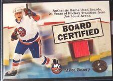 2001-02 Greats of the Game Board Certified #1 Mike Bossy New York Islanders