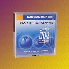 Tandberg LTO 2, 432744, 200/400 GB, Data Cartridge Datenkassette, NEU & OVP
