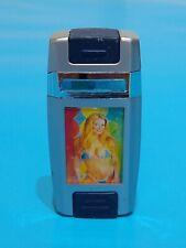 More details for model pin up girl jet flame windproof cigarette lighter butane gas g.w.o
