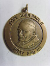 1980s Catholic John Paul ii the people's pope saint peter's square pendnt 49590