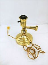 Vintage Swing Arm Table Desk Lamp Gold No Shade