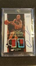 DENNIS RODMAN 2009/10 UD EXQUISITE NUMBER PIECES PATCH AUTOGRAPH /50 AUTO JERSEY