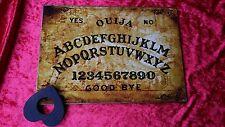Wooden Ouija Board Game Old London & Planchette spirit ghost hunt Instruction