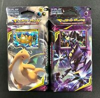 Pokemon Unified Minds Laser Focus Soaring Storm x2 Theme Decks Brand New Sealed