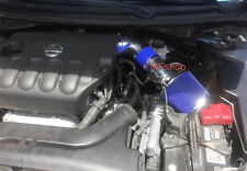 Blue For 2PC 2007-2012 Nissan Altima 2.5L L4 Air Intake Kit + Filter