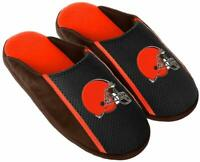 Cleveland Browns NFL Jersey Slide Slipper Mens Adult Sizes
