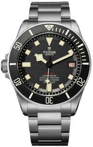Tudor Pelagos LHD Self-Winding Black Dial Titanium Men's Watch M25610TNL-0001
