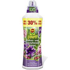Compo Balkon- und Kübelpflanzendünger 1,3L Blumendünger Planzen Blumen Dünger