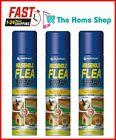 3 X 200ml Household Flea Killer Spray for Home Pet Dog Cat Tick Protection