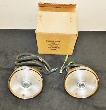 1957 1958 59 Ford F100 F250 F350 F-Series Truck NOS LH + RH FRONT PARKING LAMPS