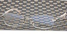 "TIFFANY & Co. TF 1090 6001 SILVER EYEGLASSES GLASSES 55-15-135mm Italy ""READ"""