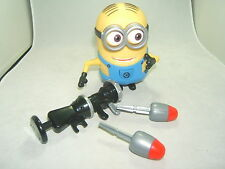 Despicable Me 2  Dave Action  Figure With Rocket Launcher! 5 Inch New/No Box