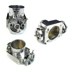 Universal Performance 80MM Intake T6 Aluminum Throttle Body CNC W/ Adapter Plate