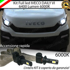 KIT FULL LED IVECO DAILY VI LAMPADE H7 ANABBAGLIANTE 6000K XENON CANBUS NO ERROR
