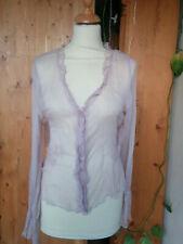 Chemise violette soie Armand Ventilo Taille XL
