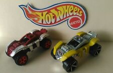 2x HOT WHEELS SPIDER RIDER RED / YELLOW SCALE 1/64 DIECAST MALAYSIA CARS