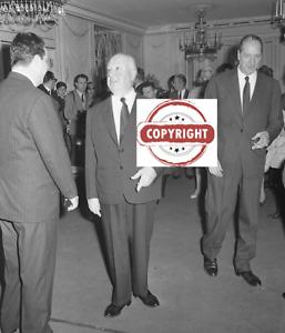 Alfred Hitchcock in Rome - Original negative  vintage  6 x 6