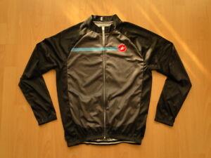 Castelli Mens Cycling Longsleeve Shirt Jersey