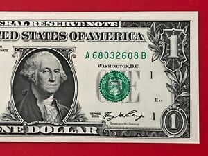 2006 $1 Dollar Bill Note ( BOSTON Block A-B ) Uncirculated