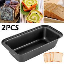 2Pc Large Loaf Tin Pan Master Bakers Bake Baking Pan Bread Bake Toast Mould Mold