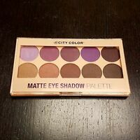 WHOLESALE LOT City Color Matte Eye shadow Palette ( 100 PACK ) FAST SHIPPING !