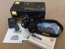 Nikon D3200 24.2MP Digital SLR Camera AF-S DX VR 18-55mm Lens+TRIPOD&LIGHTSTAND