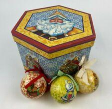 New ListingJim Shore 12 Days Of Christmas Ornament Ball Box Set 2006 Heartwood Creek Read