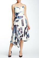 NEW $498 tibi Oki Silk Blend Strappy Dress [SZ 6 ] #G75