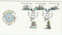 1980 AAT FIRST DAY COVER ISSUE FDC 'SHIPS OF THE ANTARCTIC' - GREAT CONDITION