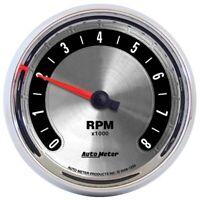 AutoMeter 1298 American Muscle Air-Core In-Dash Tachometer Gauge