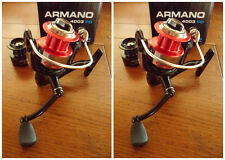Lot de 2 moulinets pêche leurre Sert Armano 4003 FD
