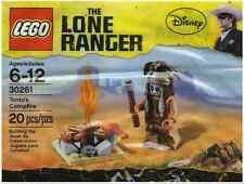 Nuevo Lego-Tonto's Campfire-El Solitario Gama - 30261-Muy Rara Bolsa De Polietileno