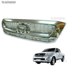 Fits Toyota Hilux Vigo Sr5 Mk6 2008 - 2011 Chrome Front Grille Grill Replacement