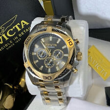 $995 Invicta Bolt 34124 50mm Two-Tone Watch Flame Fusion Tritnite Timepiece