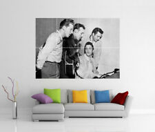 Elvis PRESLEY, Johnny Cash & Jerry Lee Lewis GIGANTE wall art print poster foto