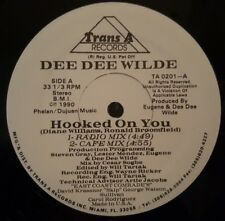"""Dee Dee Wilde - Hooked On You 12"""" 33RPM Vinyl Record TA 0201-A"""