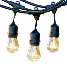 Newhouse Lighting Outdoor String Lights with Hanging Sockets |