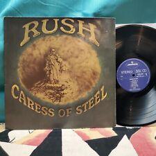 RUSH Caress of Steel Original 1975 Mercury Records HOLLAND Import AUDIOPHILE LP