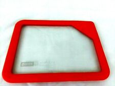 PYREX ULTIMATE GLASS & SILICONE PREMIUM RECTANGULAR LID RED 6 CUP 1.5 L NEW