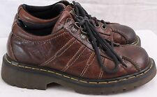 Doc Dr. Martens DM's AW004 Leather Lace up Stitched Low Work Women's 5 UK 7 US