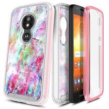 For Motorola Moto e5 Play/Cruise/e5 GO Case Slim Built-In Screen Protector Cover