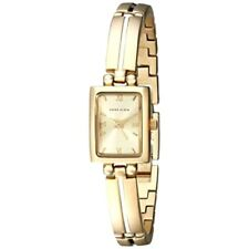 P10 Auction Anne Klein Women's 10-5404CHGB Gold-Tone Dress Watch