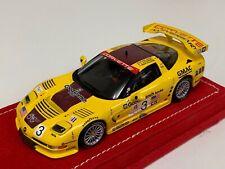 1/43 Minichamps Chevrolet Corvette C5R 2002 Petit LM Car #4 Alcantara base A1096
