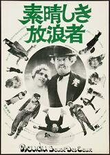 BOUDU SAVED FROM DROWNING SAUVE DES EAUX Japanese B2 movie poster MICHEL SIMON