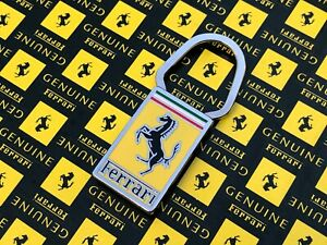 Ferrari BOMISA MILANO Keychain Keyring Vintage 206 246 250 275 330 365 GTB OEM